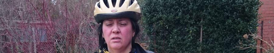 Cycle challenge 2016 Jo Amess