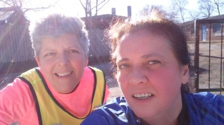Get a good running mentor Jo Amess