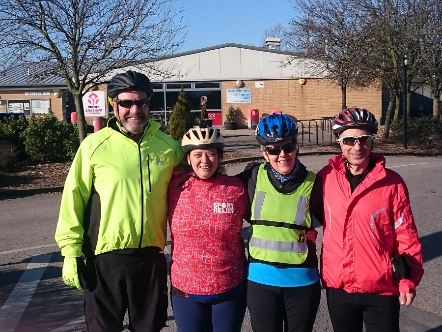 Wheel of Wakefield Sport Relief Challenge