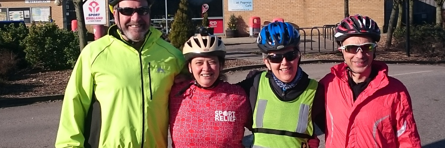 Wheel of Wakefield Sport Relief Challenge