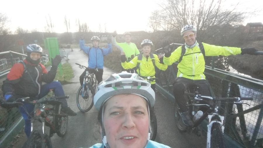 A great cycling day had by all