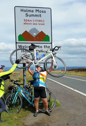 Holme Moss Climb Challenge Completed (25)