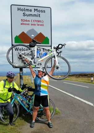 Holme Moss Climb Challenge Completed (26)