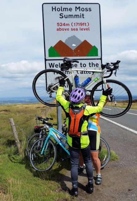 Holme Moss Climb Challenge Completed (28)