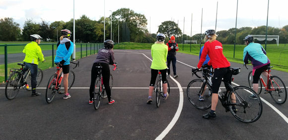 Day 2 October #sweatpledge Cycle Challenge - Breeze Session at Brownlee Cycle Circuit 021017 (4)