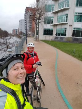Breeze ride Leeds Train Station to Bingley Five Rise Locks 130218 (14)