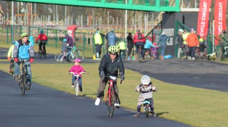 British Cycling Lets Ride Pop Up Event 11th Feb 2018 (15)