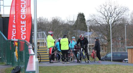 British Cycling Lets Ride Pop Up Event 11th Feb 2018 (2)